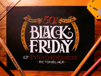 50% Off for Carmel's Black Friday Sale