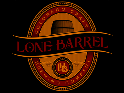 Lone Barrel - Full Logo