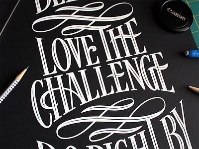 Cornett Manifesto decorative swash mission statement manifesto typography type lettering