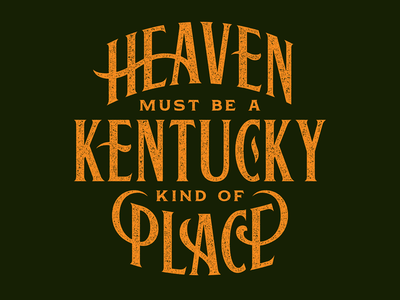 A Kentucky Kind of Place