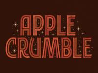 Applecrumblelettering