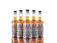 Oldtruckwhisky bottlemockup
