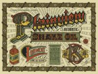Plainview snake oil   print 4 color construction