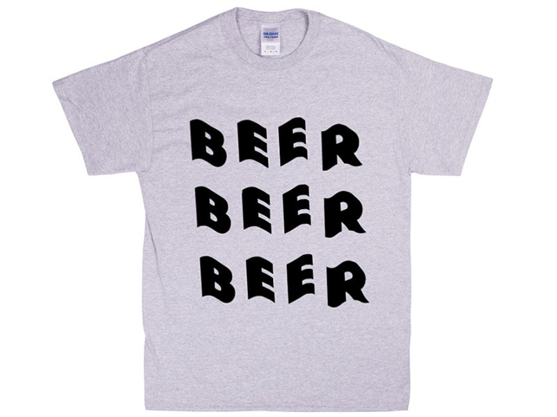 Beer, beer & more beer t shirt craft beer england leeds brewing brewery hops beer
