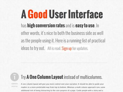 GoodUI.org layout ui