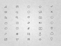 Sketch Icons II