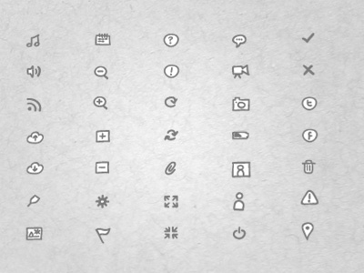 Sketch Icons II icons sketch ui