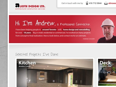 Site Layout layout ui