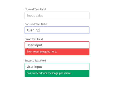 Text Field Styles