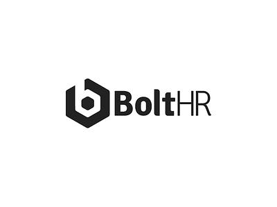 Bolt HR Logo identity logo bolt hr bolt b signika font type