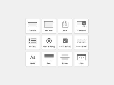 Form Builder Elements