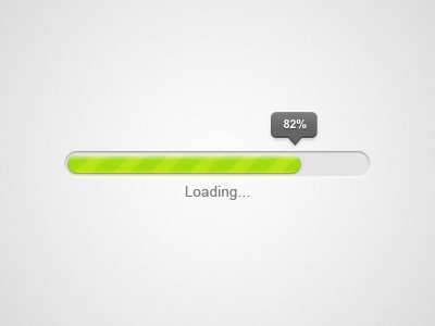 Progress Bar - PSD Freebie psd free freebie progress bar ui load loading