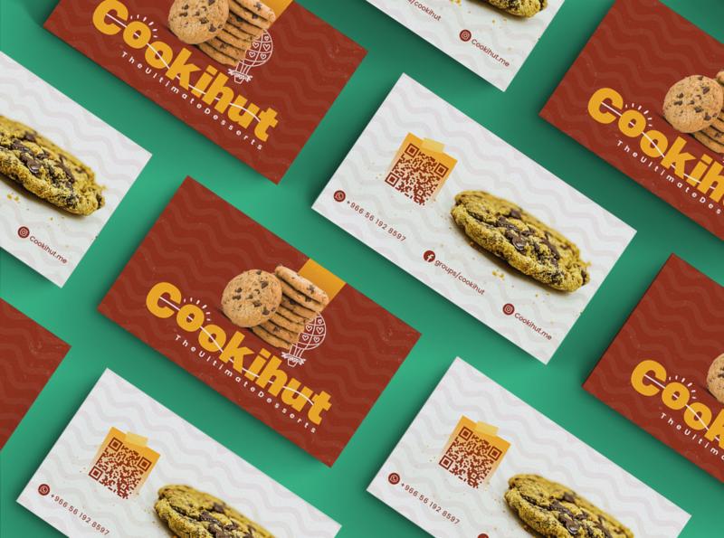 Cookihut - Brand & Business Card branding typogaphy retouching socialmedia businesscard print design print packaging brand logo design identity