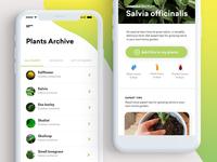GreenThumb App | Plants Archive