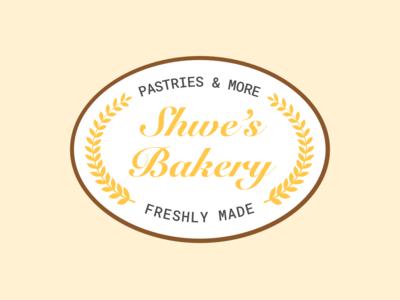 Shwe's Bakery Logo
