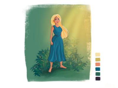 Character tropic character design character procreate illustration