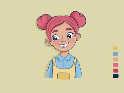 Girly illustration