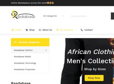 https://www.rasdabase.com - Website is Live ecommerce wordpress redesign website design responsive website responsive design