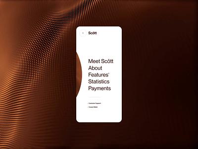 Layout (015) - Scōtt, mobile menu menu blockchain business