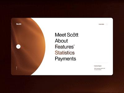 Layout (017) - Scōtt, transitions animation blockchain business