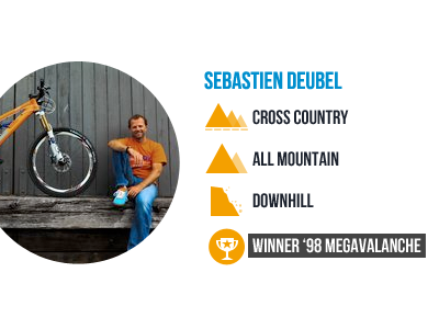 Deubel Bicycles XC, AM & DH icons mtb icons profile stats