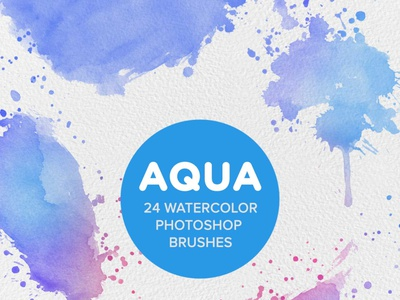 Aqua 24 Watercolor Photoshop Brushes beautiful brushes watercolour digital watercolor painting watercolor wet brushes photoshop brush photoshop action watercolor brush strokes digital artwork photoshop painting aqua watercolor brushes gogivo instantdownload photoshop art .abr files watercolor photoshop brushes watercolor splatter brushes watercolor splatter photoshop brushes photoshop