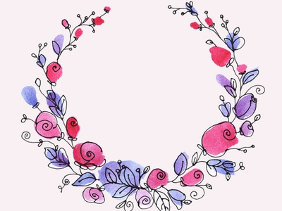 Watercolor floral wreath clipart flowers illustration flower illustration watercolor clipart wreaths pink flowers gogivo instantdownload beautiful wreaths wreath png wreath clipart wreath illustration flower clipart watercolor flowers flower floral design wreath line drawing