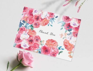 Sweet Rose Watercolor Clipart