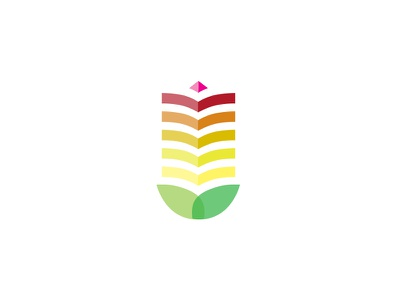 Medical identity logo identity branding health medicine gradient nature