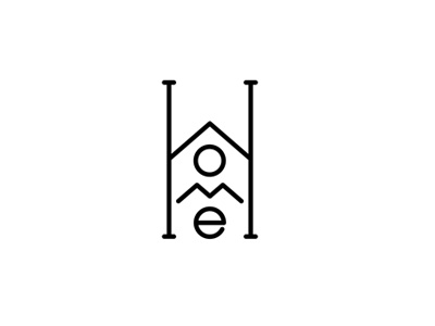 Home  logo icon sketch