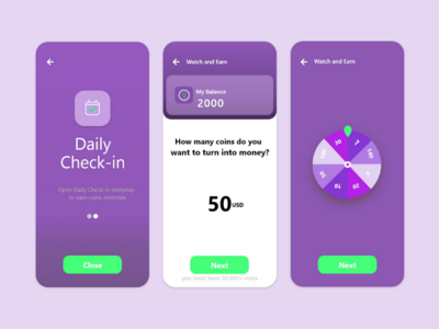 Spin and Earn user experience softui smart home uiux neomorphism neomorphic figmadesign dashboard best designer app ui design adobe xd app ui colour earn spin money