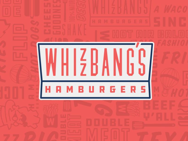 Whizzbangs brand food hamburger waco