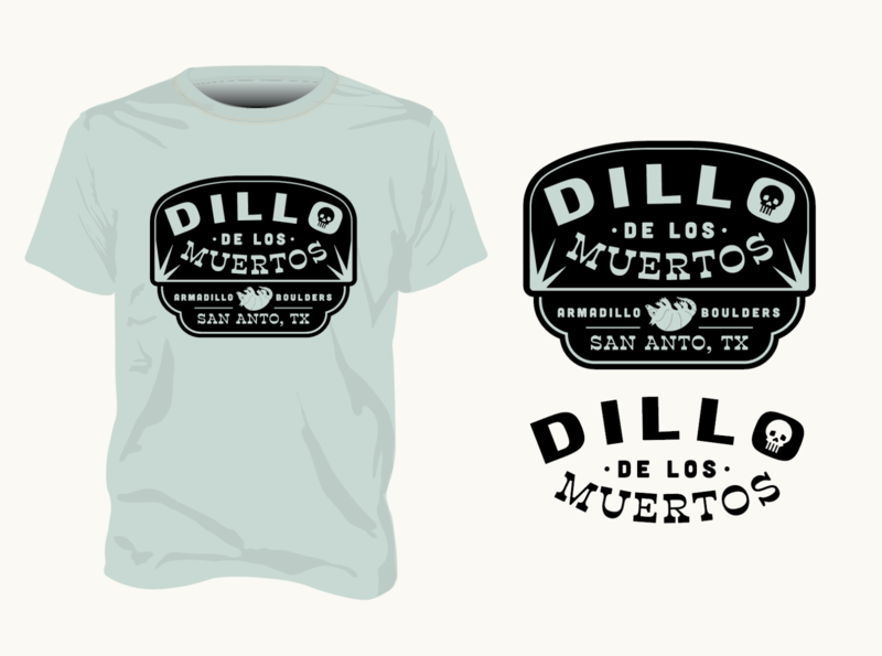 Dillo De Los Meurtos (WIP) apparel badge bouldering climbing