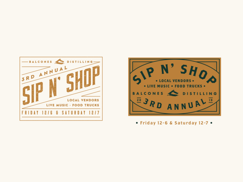 Sip N Shop holiday branding fair vendors makers