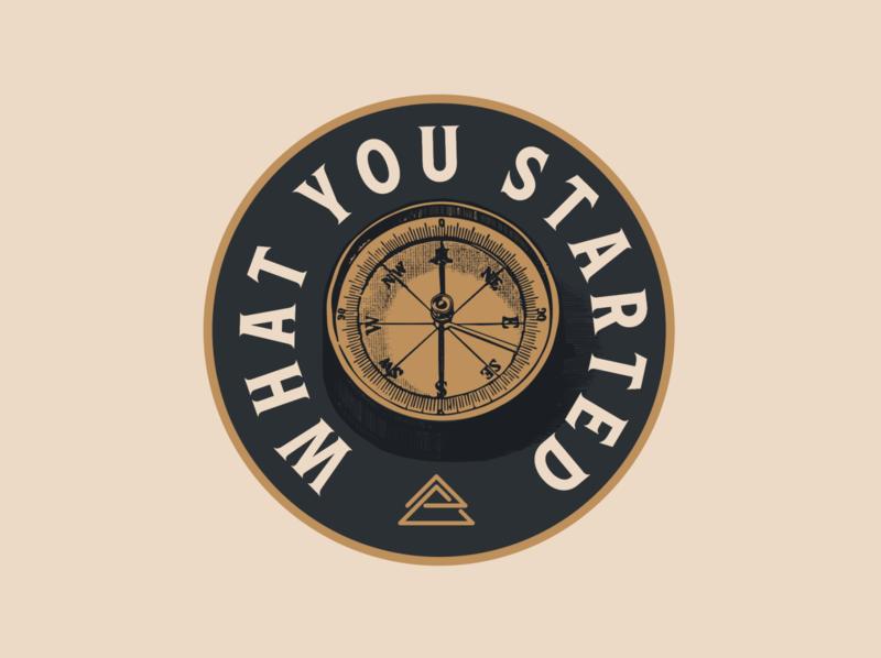 Sermon Series Graphic (Meta Church) vintage sermon art etching logo apparel