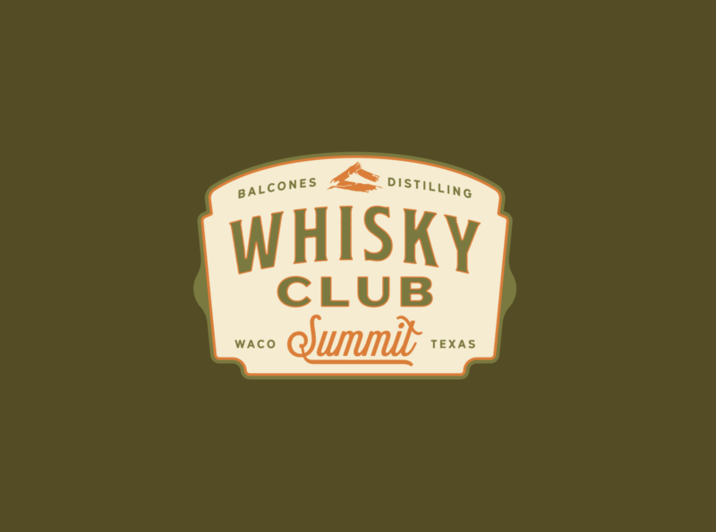Whisky Summit Logo vector patch badge camping recreation parks
