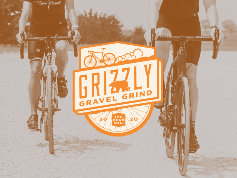 Grizzly Gravel Grind Final emblem cycle cyclocross gravel identity logo