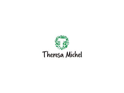 Theresa Michel logo design lettering typography minimal illustrator vector icon design logo illustration branding
