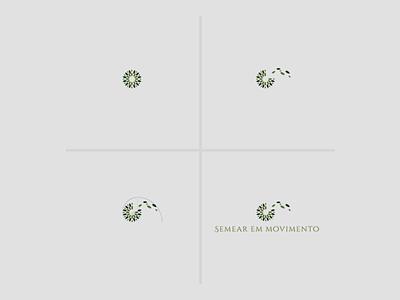 Logo Semear em movimento logotype criação graphic design design grafico logotipo logomarca