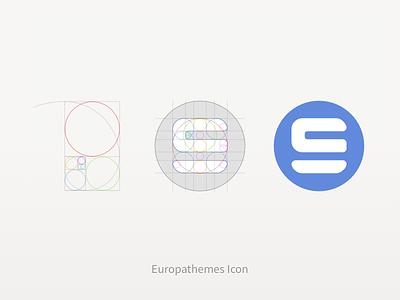 Europathemes Icon golden ratio logo icon