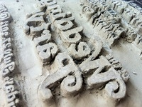 Block Print Carving in Clay