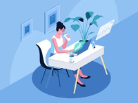 Office Illustration 2