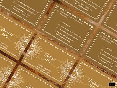 Fabr'is graphisme ui design carte de visite graphic design