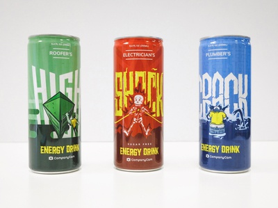 Energy Drinks | Trade show SWAG