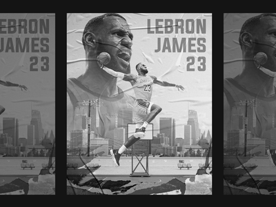 Lebron James Tribute 4x5 Poster poster collection poster designer poster design poster a day poster art poster sports branding sport designer sport design basketball lakers los angeles lakers los angeles king james lebron james