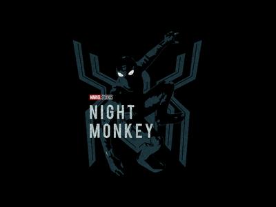 Night Monkey T-shirt design