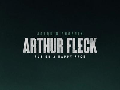 Arthur Fleck t-shirt design