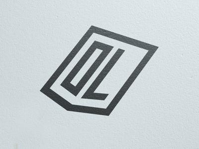 DL monogram logo