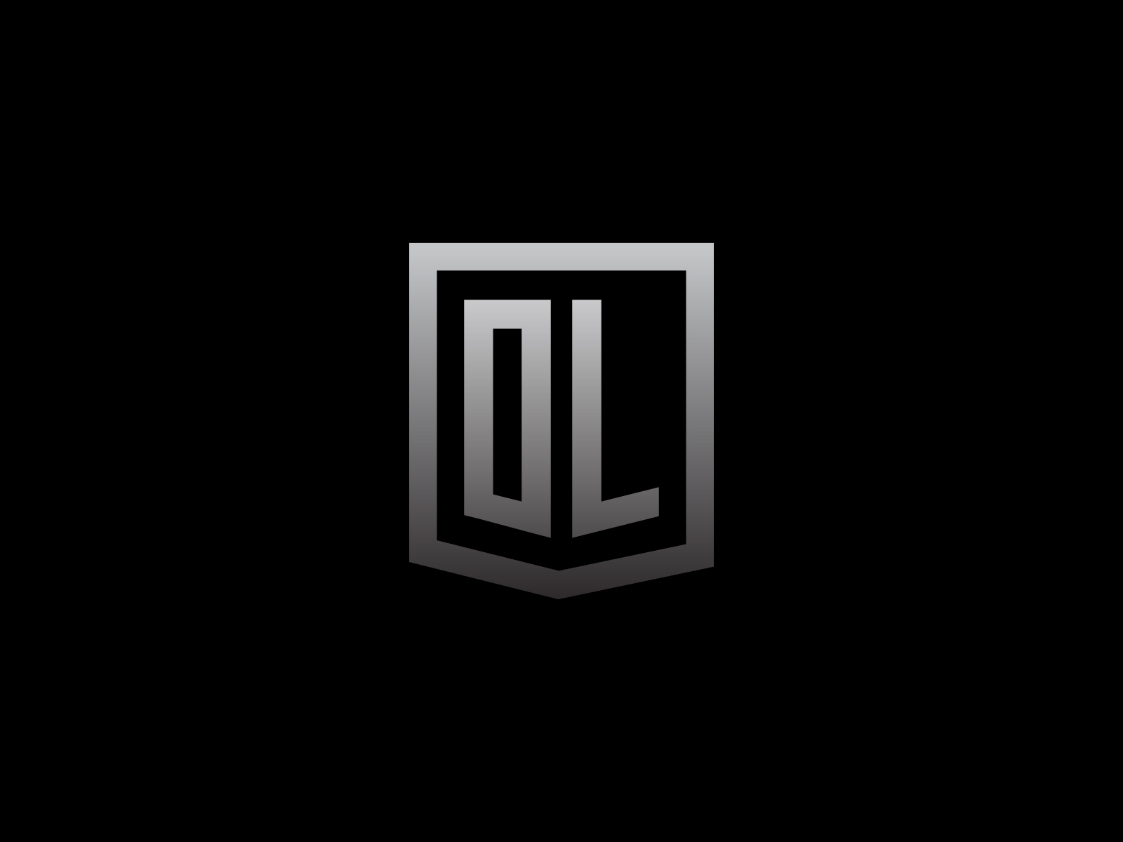 Dl Monogram Logo By Rahal Nejraoui On Dribbble
