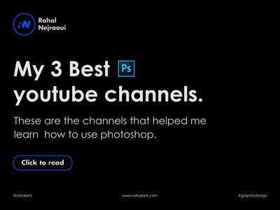 My three best photoshop channels